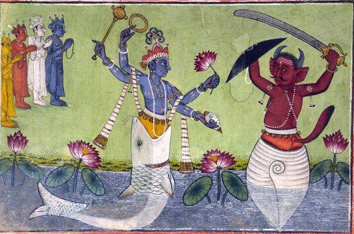Vishnu_matsya